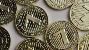 colpo rotante di bitcoin litecoin (criptovaluta digitale) - bitcoin litecoin 0002