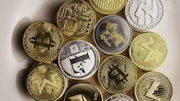 Tir rotatif de bitcoins (crypto-monnaie numérique) - bitcoin mixte 002
