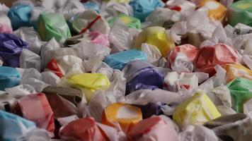 colpo rotante di taffies di acqua salata - candy taffy 022