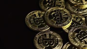 colpo rotante di bitcoin (criptovaluta digitale) - bitcoin 0545