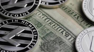 Tir rotatif de bitcoins (crypto-monnaie numérique) - bitcoin litecoin 611