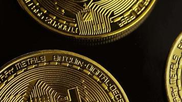 colpo rotante di bitcoin (criptovaluta digitale) - bitcoin 0036