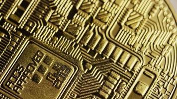 Tiro giratorio de bitcoins (criptomoneda digital) - bitcoin 0141