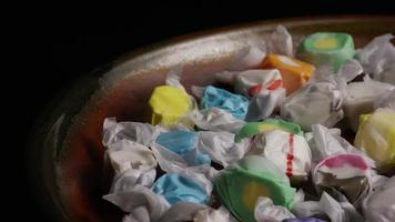 colpo rotante di taffies di acqua salata - candy taffy 021