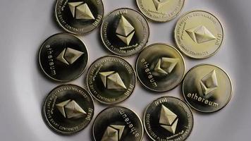 colpo rotante di ethereum bitcoin (criptovaluta digitale) - bitcoin ethereum 0060