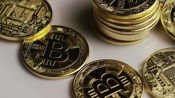 Tir rotatif de bitcoins (crypto-monnaie numérique) - bitcoin 0429