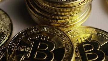 Tir rotatif de bitcoins (crypto-monnaie numérique) - bitcoin 0432