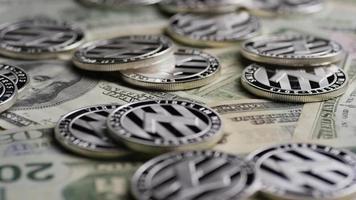 Tir rotatif de bitcoins (crypto-monnaie numérique) - bitcoin litecoin 616