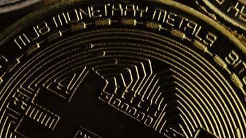 Tir rotatif de bitcoins (crypto-monnaie numérique) - bitcoin mixte 012