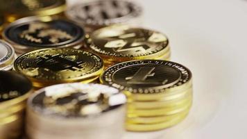 Tiro giratorio de bitcoins (criptomoneda digital) - bitcoin mixto 033
