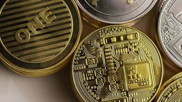 Tir rotatif de bitcoins (crypto-monnaie numérique) - bitcoin mixte 007