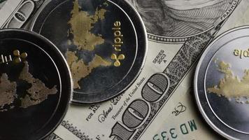 colpo rotante di bitcoin (criptovaluta digitale) - ripple bitcoin 0263
