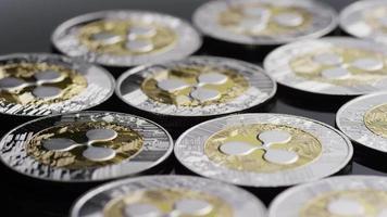 colpo rotante di bitcoin (criptovaluta digitale) - ripple bitcoin 0101