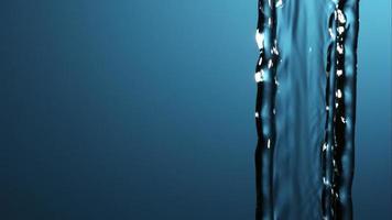 água derramando e espirrando em câmera ultra lenta (1.500 fps) em uma superfície reflexiva - água derrama 009