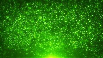 Fairy Magic Light Particles Hintergrundschleife