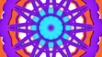 Kaleidoskop gepicktes Papier