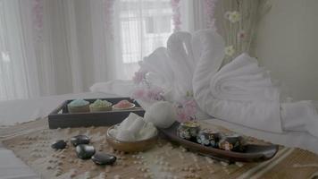 decoración de masaje spa y tratamiento corporal