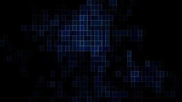 rejilla del circuito eléctrico azul