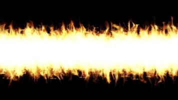 Fire Flames Igniting And Burning background video