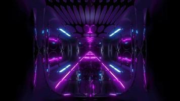 temple de science-fiction futuriste