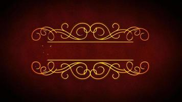 Frohe Weihnachten elegante Animation Banner video