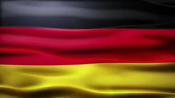 loop di bandiera della Germania video