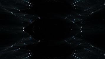 futuristische Strukturen und Lichter Hintergrund