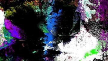 loop di sfondo colorato grunge arte