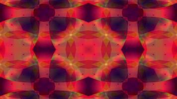 le forme caleidoscopiche si fondono e pulsano video