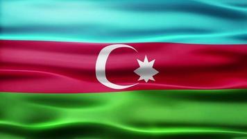 lazo de la bandera de azerbaiyán