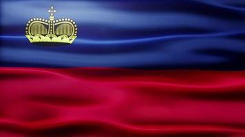 lazo de la bandera de Liechtenstein