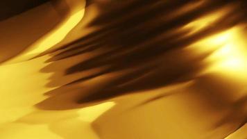 Fondo de oro de animación. 4k metraje