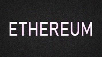 título ethereum en mayúsculas