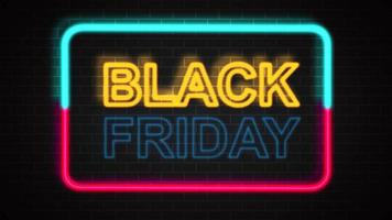 sinalização de sexta-feira negra video
