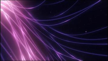 linhas onduladas fluidas brilhantes video