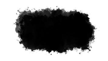 manchas de tinta negra generadas por computadora