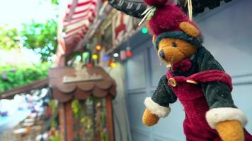 Red Bear Toy Hanging Outdoor