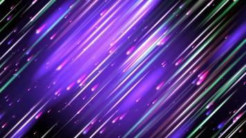 lindas estrelas cadentes caindo no céu noturno video