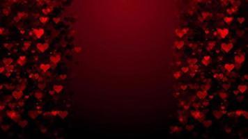 fundo do quadro de corações