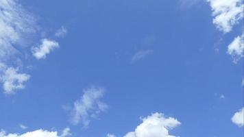 lapso de tempo em nuvens ondulantes video