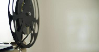 projetor de filme retrô video