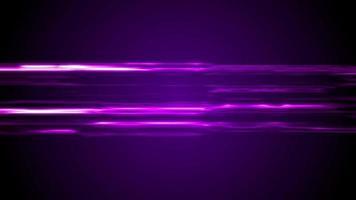 Videoclip de fondo de líneas de neón brillante abstracto