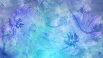 blauer und lila Blumenhintergrund