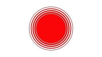 red ripple nice animação vídeo video