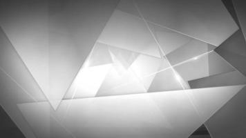 fundo de triângulos abstratos
