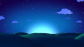 colline di sogni sullo sfondo