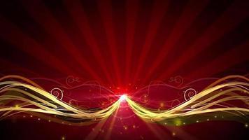 fundo de luz brilhante video
