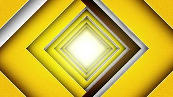 Abstract Square Tunnel Background