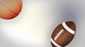 sfondo di animazione palla