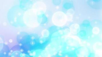 cerchi blu che scorrono